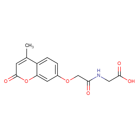 N-{[(4-methyl-2-oxo-2H-chromen-7-yl)oxy]acetyl}glycine