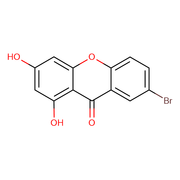 7-bromo-1,3-dihydroxy-9H-xanthen-9-one