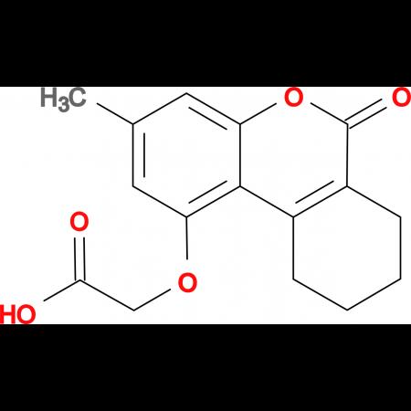 [(3-methyl-6-oxo-7,8,9,10-tetrahydro-6H-benzo[c]chromen-1-yl)oxy]acetic acid