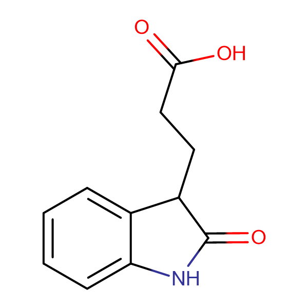 3-(2-oxo-2,3-dihydro-1H-indol-3-yl)propanoic acid