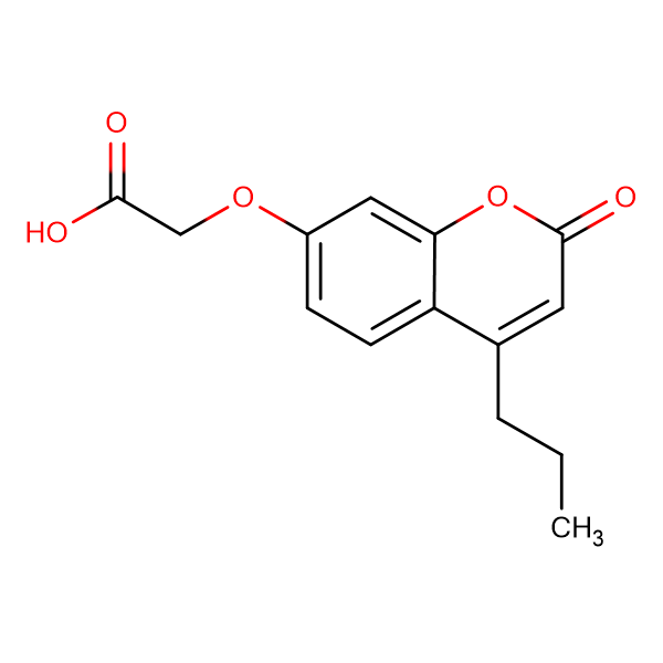 [(2-oxo-4-propyl-2H-chromen-7-yl)oxy]acetic acid