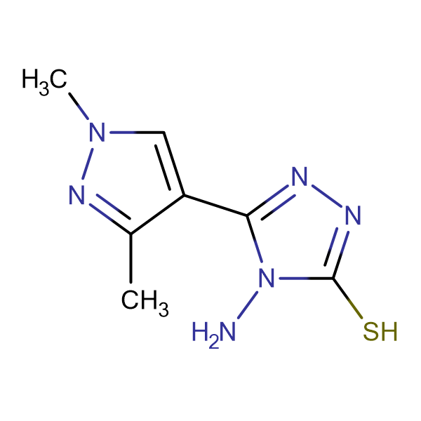 4-amino-5-(1,3-dimethyl-1H-pyrazol-4-yl)-4H-1,2,4-triazole-3-thiol