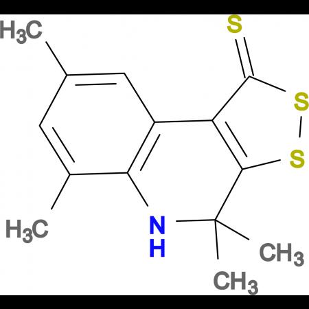 4,4,6,8-tetramethyl-4,5-dihydro-1H-[1,2]dithiolo[3,4-c]quinoline-1-thione