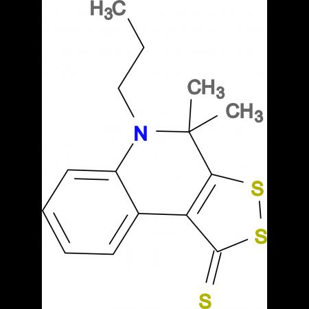 4,4-dimethyl-5-propyl-4,5-dihydro-1H-[1,2]dithiolo[3,4-c]quinoline-1-thione