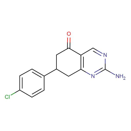2-amino-7-(4-chlorophenyl)-7,8-dihydroquinazolin-5(6H)-one
