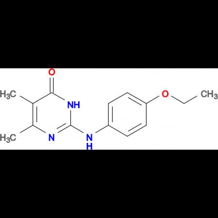2-[(4-ethoxyphenyl)amino]-5,6-dimethylpyrimidin-4(3H)-one