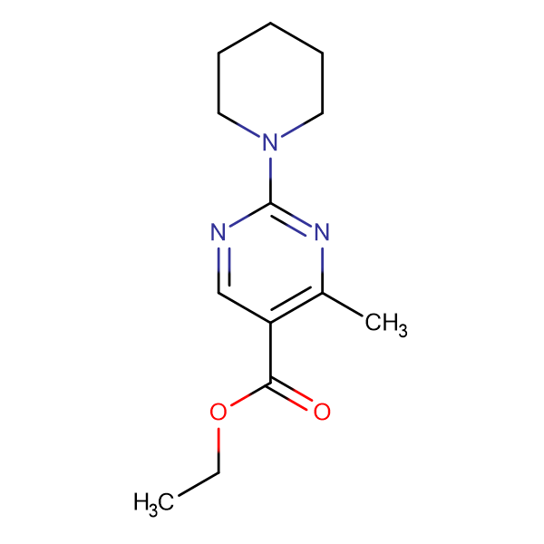 ethyl 4-methyl-2-piperidin-1-ylpyrimidine-5-carboxylate
