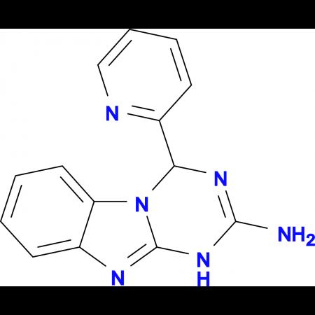 4-pyridin-2-yl-1,4-dihydro[1,3,5]triazino[1,2-a]benzimidazol-2-amine