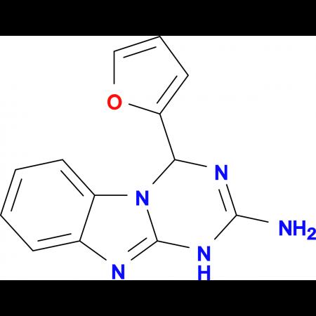 4-(2-furyl)-1,4-dihydro[1,3,5]triazino[1,2-a]benzimidazol-2-amine