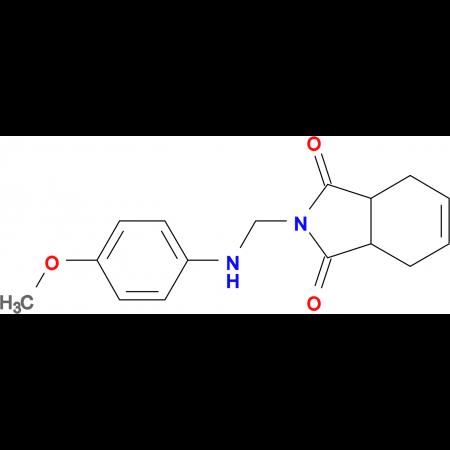 2-{[(4-methoxyphenyl)amino]methyl}-3a,4,7,7a-tetrahydro-1H-isoindole-1,3(2H)-dione