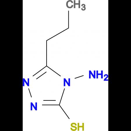 4-amino-5-propyl-4H-1,2,4-triazole-3-thiol