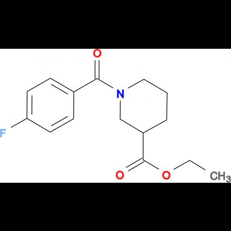 ethyl 1-(4-fluorobenzoyl)piperidine-3-carboxylate