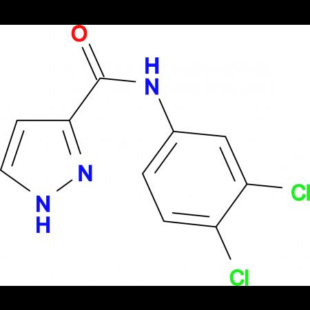 N-(3,4-dichlorophenyl)-1H-pyrazole-3-carboxamide