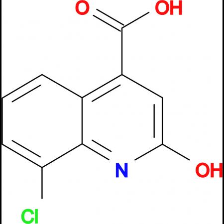 8-chloro-2-hydroxyquinoline-4-carboxylic acid