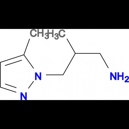 [2-methyl-3-(5-methyl-1H-pyrazol-1-yl)propyl]amine