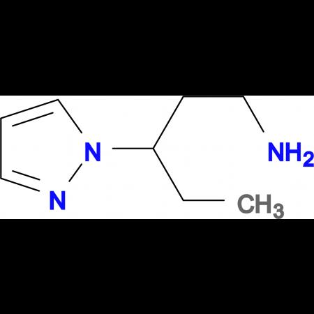[3-(1H-pyrazol-1-yl)pentyl]amine