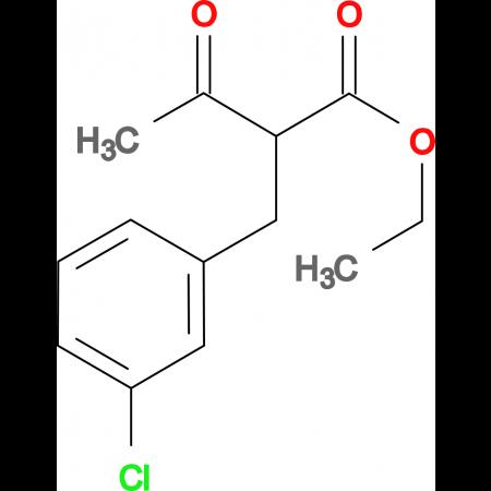 ethyl 2-(3-chlorobenzyl)-3-oxobutanoate