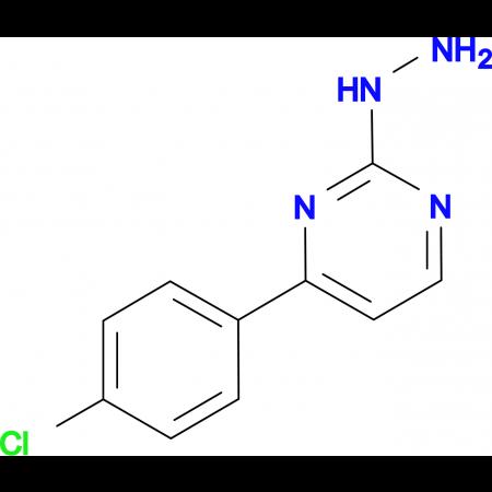 4-(4-chlorophenyl)-2-hydrazinopyrimidine