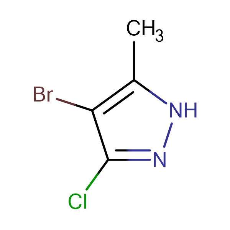 4-bromo-3-chloro-5-methyl-1H-pyrazole