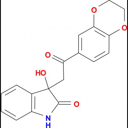 3-[2-(2,3-dihydro-1,4-benzodioxin-6-yl)-2-oxoethyl]-3-hydroxy-1,3-dihydro-2H-indol-2-one