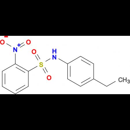 N-(4-ethylphenyl)-2-nitrobenzenesulfonamide