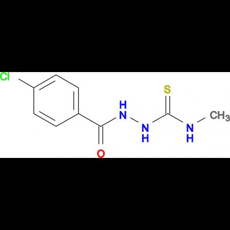 2-(4-chlorobenzoyl)-N-methylhydrazinecarbothioamide