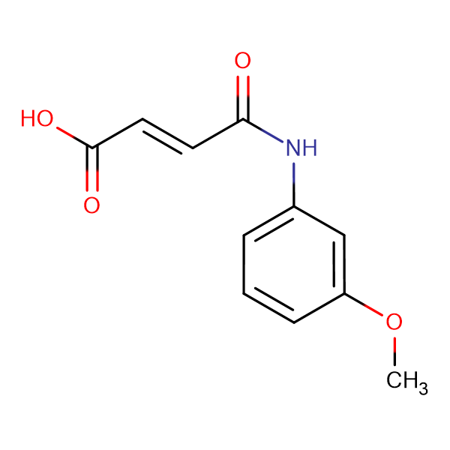 (2E)-4-[(3-methoxyphenyl)amino]-4-oxobut-2-enoic acid