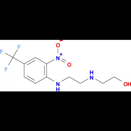 2-[(2-{[2-nitro-4-(trifluoromethyl)phenyl]amino}ethyl)amino]ethanol