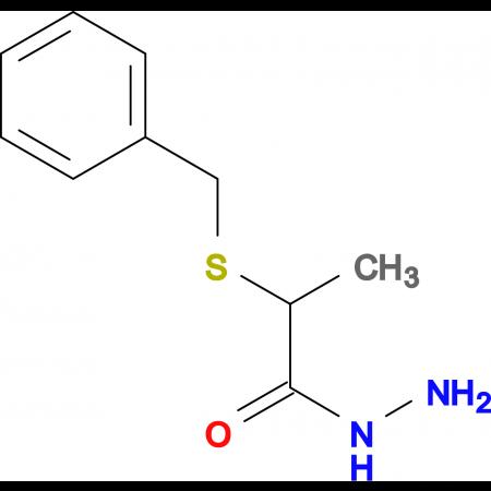 2-(benzylthio)propanohydrazide
