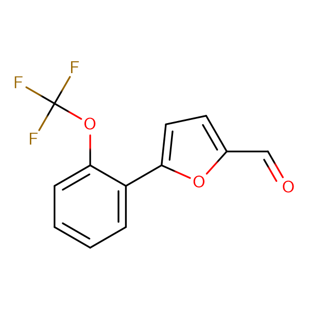 5-[2-(trifluoromethoxy)phenyl]-2-furaldehyde