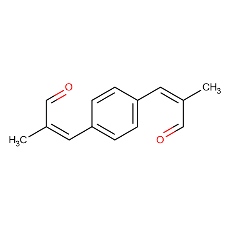 (2Z,2'Z)-3,3'-(1,4-phenylene)bis(2-methylacrylaldehyde)