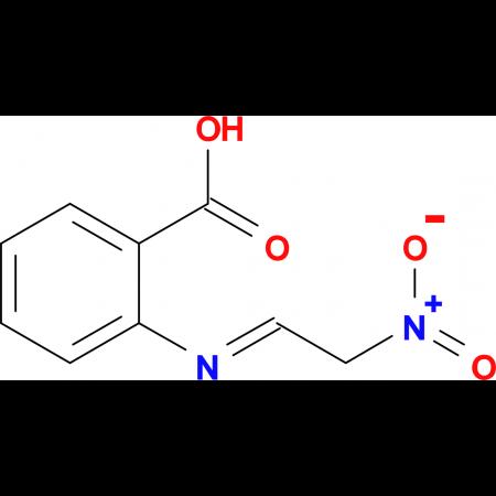 2-{[(1E)-2-nitroethylidene]amino}benzoic acid