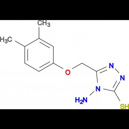4-amino-5-[(3,4-dimethylphenoxy)methyl]-4H-1,2,4-triazole-3-thiol