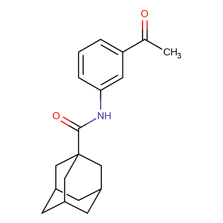 N-(3-acetylphenyl)adamantane-1-carboxamide
