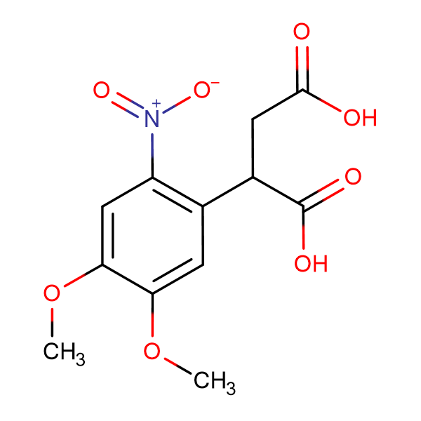 2-(4,5-dimethoxy-2-nitrophenyl)succinic acid