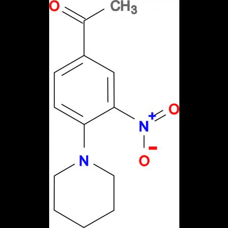 1-(3-nitro-4-piperidin-1-ylphenyl)ethanone