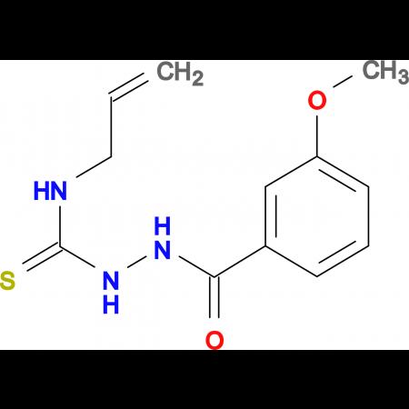 N-allyl-2-(3-methoxybenzoyl)hydrazinecarbothioamide