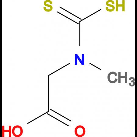 N-(mercaptocarbonothioyl)-N-methylglycine diammoniate