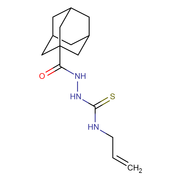 2-(1-adamantylcarbonyl)-N-allylhydrazinecarbothioamide