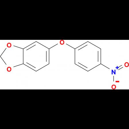 5-(4-nitrophenoxy)-1,3-benzodioxole