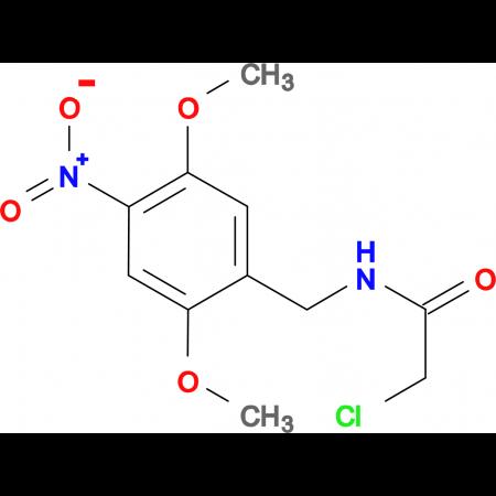 2-chloro-N-(2,5-dimethoxy-4-nitrobenzyl)acetamide