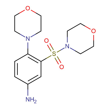 [4-morpholin-4-yl-3-(morpholin-4-ylsulfonyl)phenyl]amine