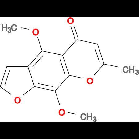 4,9-dimethoxy-7-methyl-5H-furo[3,2-g]chromen-5-one