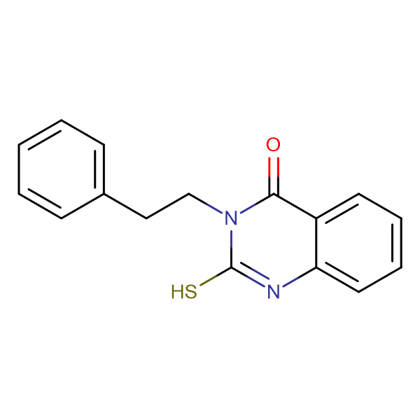 2-mercapto-3-(2-phenylethyl)quinazolin-4(3H)-one