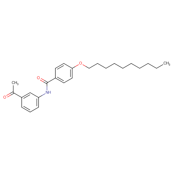 N-(3-acetylphenyl)-4-(decyloxy)benzamide