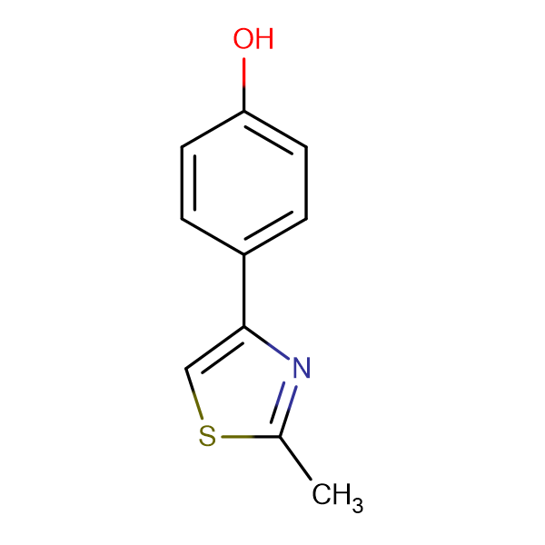 4-(2-methyl-1,3-thiazol-4-yl)phenol