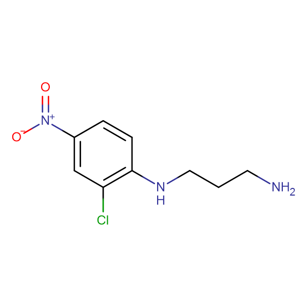 N-(2-chloro-4-nitrophenyl)propane-1,3-diamine