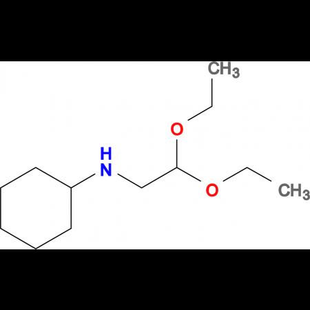 N-(2,2-diethoxyethyl)cyclohexanamine