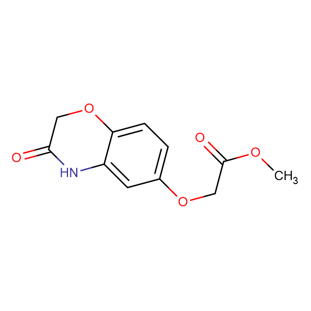 methyl [(3-oxo-3,4-dihydro-2H-1,4-benzoxazin-6-yl)oxy]acetate