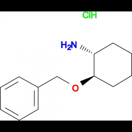 (1R,2R)-2-(Benzyloxy)cyclohexanamine hydrochloride